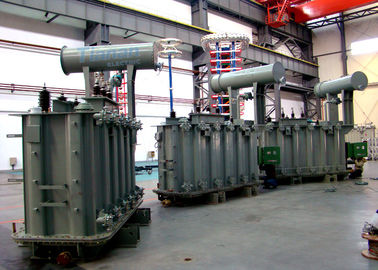110kV Three Phase Electrical Oil Immersed  Power Transformers