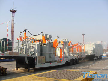 Prefabricated 132KV  Semi-trailer Vehicle-mounted Mobile Substation